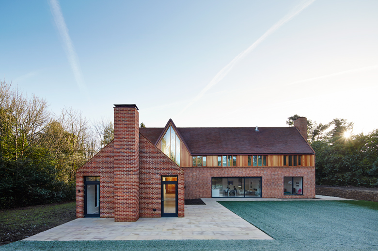 New Build House. Napier Clarke - Architects in Marlow, Buckinghamshire