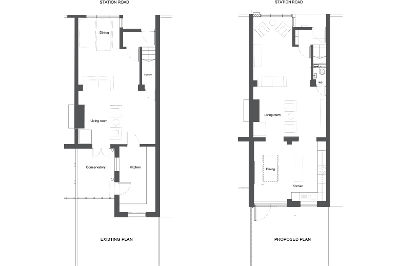 Edwardian terraced house floor plans home photo style for Terraced house plans uk